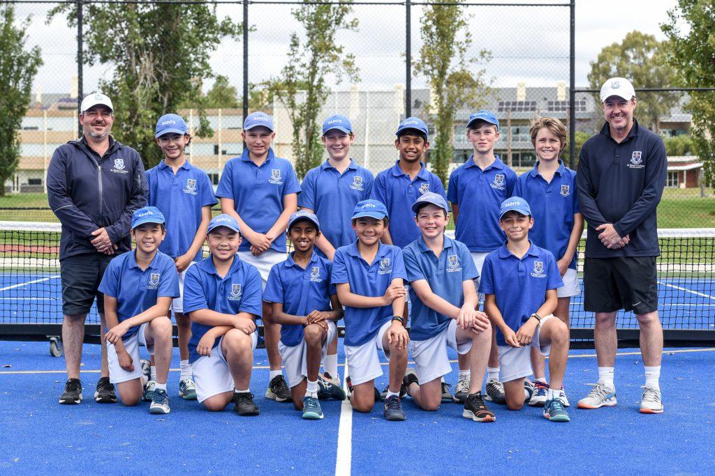 A1/A2 Junior School Tennis Team