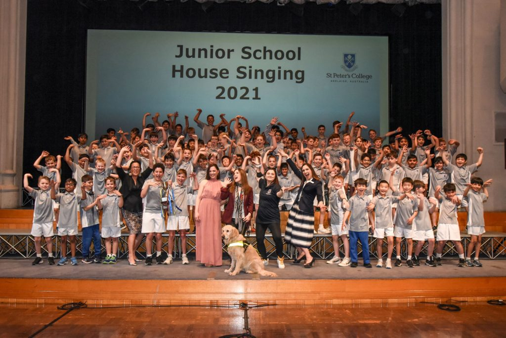 Congratulations to House Singing Winner Clayton-Dyer