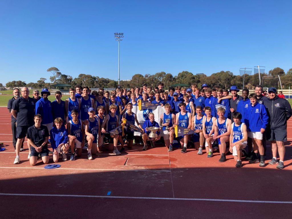 Achilles Cup winning team